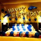 生日氣球成人布置套餐派對裝飾鋁膜氣球浪漫情侶宴會裝飾布置氣球【蘇迪蔓】