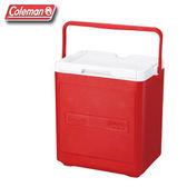 【偉盟公司貨】丹大戶外用品 美國【Coleman】CM-1321J 17L 置物型冰桶 置物箱/冰桶 紅