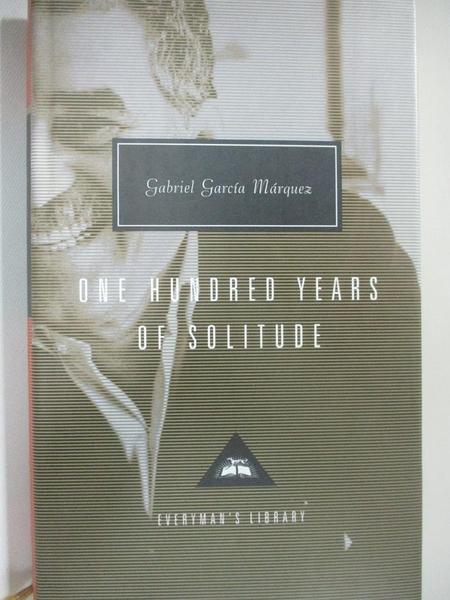 【書寶二手書T1/原文小說_B3D】One Hundred Years of Solitude (Everyman s Library Classics)