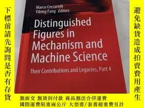 二手書博民逛書店Distinguished罕見Figures in Mechanism and Machine Science:T