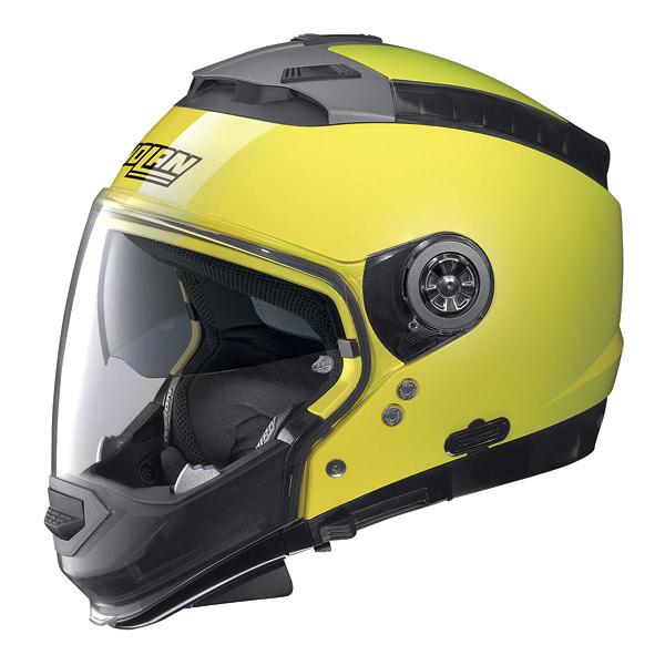 [安信騎士]  義大利 Nolan N44 HI-VISIBILITY #18 螢光黃 半罩 安全帽 內墨片 下巴可拆