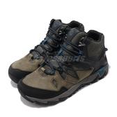 Merrell 戶外鞋 All Out Blaze 2 Mid GTX 黑 咖啡 男鞋 運動鞋 Gore-Tex 防水 越野 登山【PUMP306】 ML12093