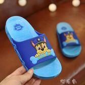 男童拖鞋夏室內防滑家用兒童專用中大童寶寶小孩卡通涼拖鞋 町目家