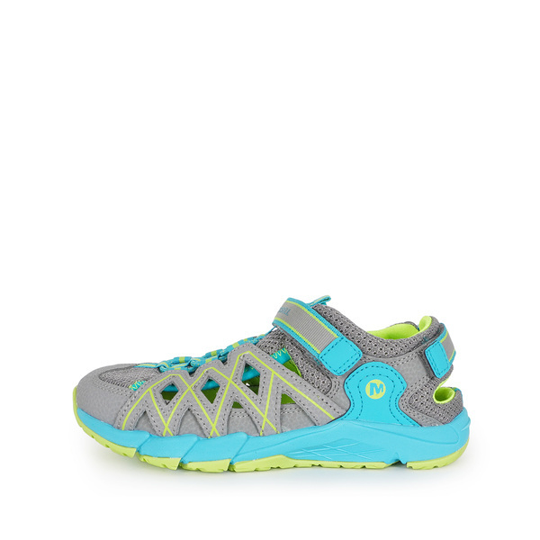 Merrell Hydro Quench [MLK163197] 大童鞋 運動 戶外 多功能 透氣 排水 快乾 灰 水藍