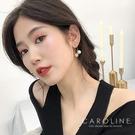 《Caroline》★韓國熱賣造型時尚  高貴典雅設計 耳環70473