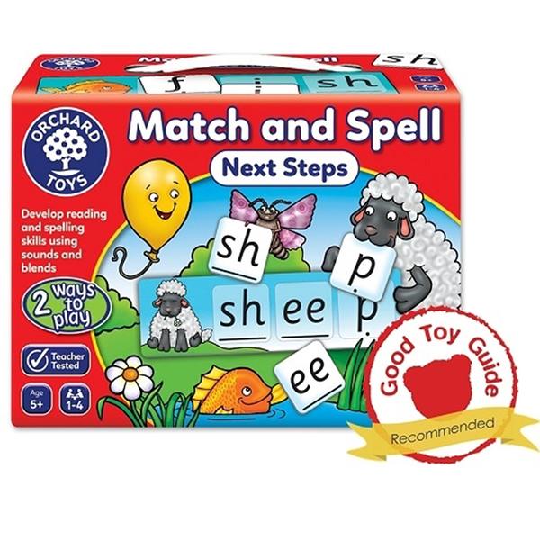【英國 Orchard Toys】兒童桌遊-語言學習 拼字讀音進階 OT-218