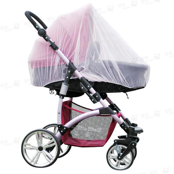 普特車旅精品【OE0400】全罩式嬰兒手推車蚊帳 搖籃車防蚊罩 兒童寶寶幼