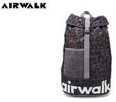 【橘子包包館】AIRWALK 樹影迷彩 大容量拳擊束帶登山後背包 A635321325 樹彩黑