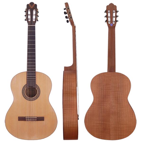 ★集樂城樂器★嚴選雲杉單板JYC GC-120NS古典吉他~送琴套/踏板!!限量(虎紋楓木側底板)