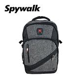 SPYWALK 素色多功能後背包 NO:S7154