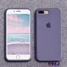 蘋果8plus手機殼7plus液態硅膠iphone7潮牌6splus簡約磨砂7p全包防摔純色  快速出貨