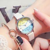 年終好禮85折 可愛手錶女學生簡約時尚潮流韓版水?小盤細帶防水高中學生石英表 新知優品