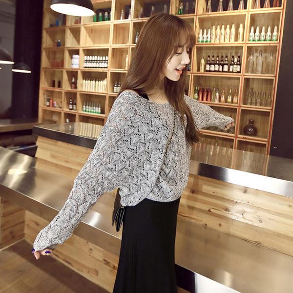 【TU24】兩件式套裝 長袖針織套裝+長裙 韓版修身兩件套連身裙 洋裝 均碼~酒紅