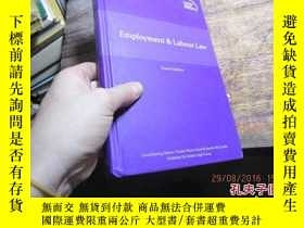 二手書博民逛書店global罕見legal insights employmen