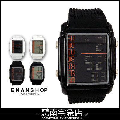 惡南宅急店【0080F】聽說‧電影款限定優惠中『LED時刻方錶款』可當情侶對錶。單款區
