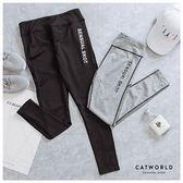 Catworld 迷人曲線。線條提臀彈力運動褲【12001920】‧S-2XL
