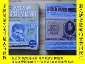 二手書博民逛書店standard罕見catalog of WORLD PAPER MONEY【2冊合售】 看圖Y20621 看
