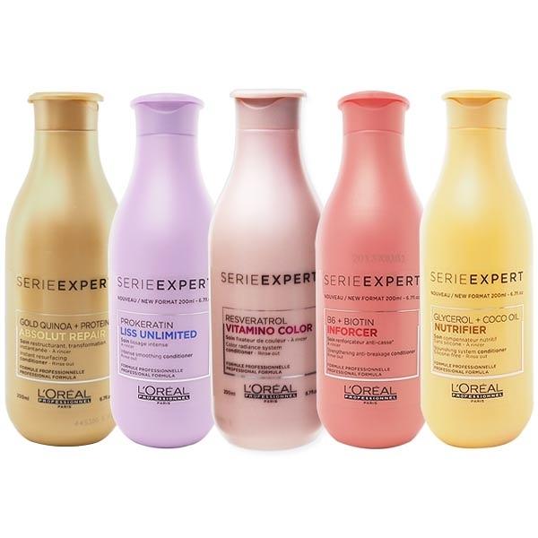 LOREAL 萊雅 絲漾博 瞬柔/護色/B6/保濕 護髮乳(200ml) 多款可選【小三美日】