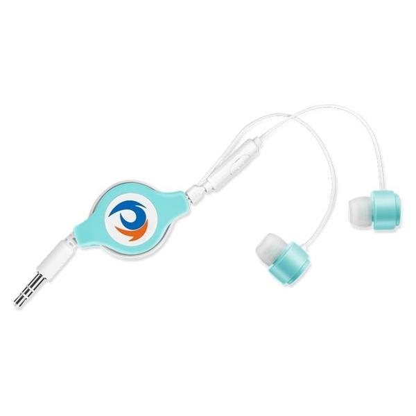 耳機 自動伸縮入耳式可拉伸耳機便攜式通用女生可愛 游戲oppo vivo華為 城市科技