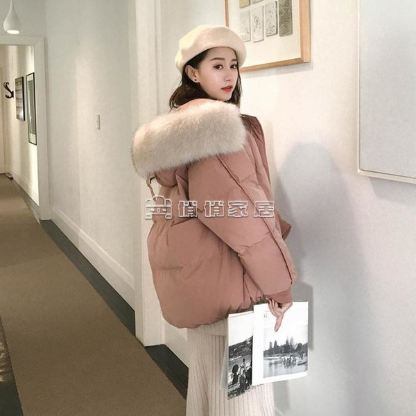 短款棉服女2021新款韓版棉襖寬松ins面包服加厚學生棉衣冬季外套