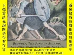 二手書博民逛書店Medieval罕見Epics: Beowulf, The Song Of Roland, The Nibelun