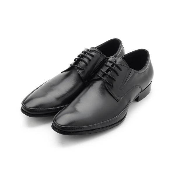 CHIC&F 真皮經典尖頭皮鞋 黑 ST936-1 男鞋 鞋全家福