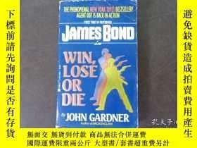 二手書博民逛書店WIN,LOSE罕見OR DIEY19865 JOHN GARD