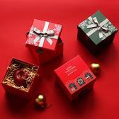 聖誕節-圣誕節蘋果包裝盒平安夜蘋果盒子正方形立體盒子禮品盒 Korea時尚記