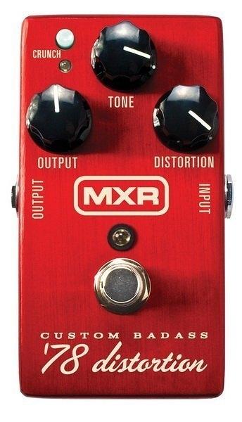☆ 唐尼樂器︵☆ Dunlop MXR M78 Distortion 單顆 破音 效果器