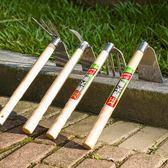 不銹鋼鋤頭鏟子耙子鍬挖土鬆土除草種菜盆栽花園藝種植工具  ATF伊衫風尚