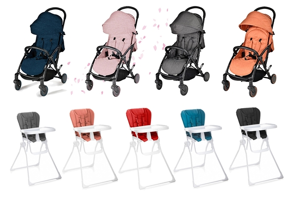 Unilove Slight 歐系輕便推車 + joovy New Nook 折疊兒童餐椅