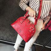 女2018新款手提結婚包中國風宴會貝殼包百搭單肩斜挎包 LI1835『時尚玩家』