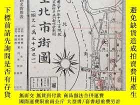 二手書博民逛書店罕見1947年臺北市街圖Y4505 出版1947