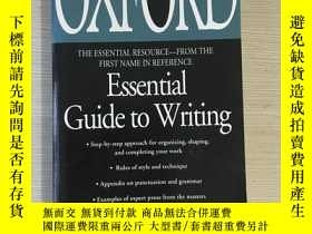 二手書博民逛書店Oxford罕見essentials guide to writ