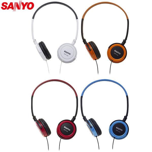 SANYO三洋 立體聲頭戴式折疊耳機 ERP-H28