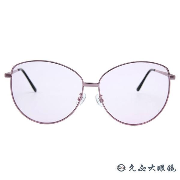 SPEKTRE 太陽眼鏡 MIA Rose Gold (玫瑰金) 貓眼 粉鏡片 墨鏡 久必大眼鏡