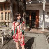 【雙11】絲巾女新款遮陽海邊披肩兩用夏季紗巾圍巾度假海灘防曬沙灘巾免300