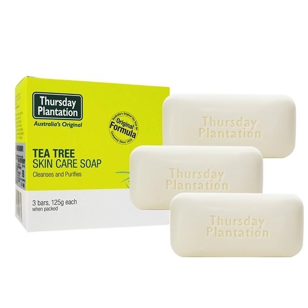 Thursday Plantation 澳洲星期四農莊 茶樹皂3入組(125gx3)【小三美日】