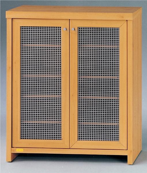 HY-919-2   伊莉詩山毛櫸色雙門鞋櫃(12014)-附4片移動板-可放15雙鞋