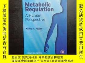 二手書博民逛書店Metabolic罕見Regulation: A Human P