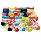 小童防滑襪,大約1-3歲可穿,12-15cm(女款10件組)