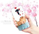 [ze520kl 外殼] 華碩 asus ZenFone3 ZE520KL Z017DA 手機殼 硬殼 兩個世界 貓戀魚
