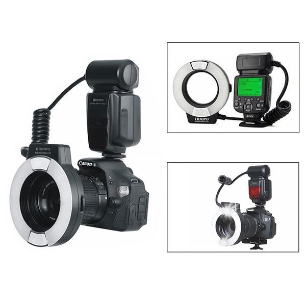 Triopo 捷寶 TR-15EX/C〔Canon版〕環形閃光燈 微距閃燈