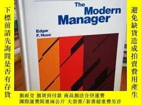 二手書博民逛書店The罕見modern manager (The West se