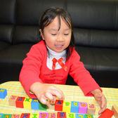 佳廷模型  木製益智積木玩具 禮物 50顆/PCS  英文字母 水性漆 經濟部標準檢驗局檢驗合格