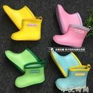 日本兒童雨鞋男童寶寶水鞋女童雨靴膠鞋小童幼兒小孩套鞋防滑防護 小艾新品