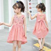 女童連身裙中大童兒童夏季裙子洋氣公主裙寶寶韓版潮 晴天時尚館