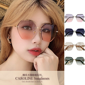 《Caroline》年度最新網紅款潮流行時尚百搭抗UV太陽眼鏡 71307