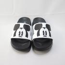 DISNEY 迪士尼正版 米奇 中童 運動 防水輕量拖鞋 120265CWHT 黑白【iSport愛運動】