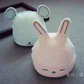 新生兒0-4個月帽子胎帽加厚加絨耳朵嬰兒帽秋冬寶寶套頭帽子棉質【全館85折任搶】